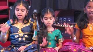 Aditi & her group - Nadha Vindhu Kaladhi Namo Nama - Annual Day 2013