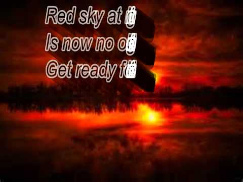 CHAOS UK - RED SKY AT NIGHT w/ LYRICS
