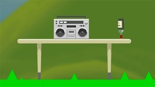 HAPPY WATER BOTTLE FLIP CHALLENGE  Happy Wheels 146