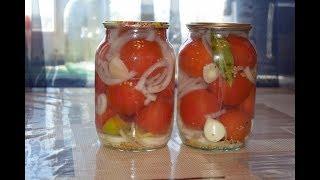 Маринованные помидоры с луком и чесноком!!!! ОЧЕНЬ ВКУСНО!