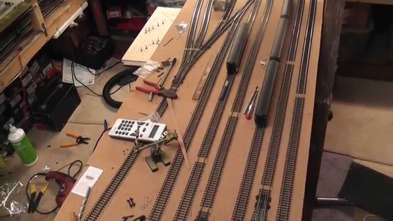 Building A Model Railway Part 5 Control Panel Youtube Wiring Rr Siding Diagram Get Free Image About