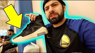 PLAYING IN $350 AIR FEAR OF GOD SNEAKERS *ON COURT REVIEW*