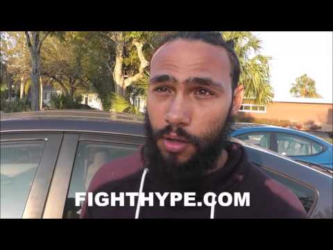 KEITH THURMAN EVALUATES DANNY GARCIA'S POWER; NOTES OPPONENTS GET UP IF DROPPED