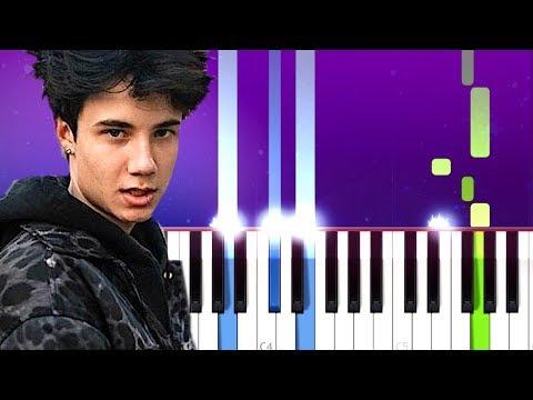 Jxdn (Jaden Hossler) - Comatose (Piano Tutorial)