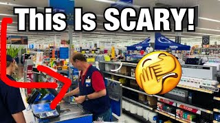 Magician At Walmart! SCARY! *Must Watch!*