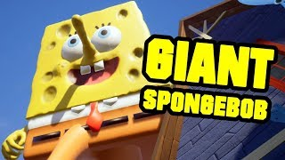 GIANT SPONGEBOB BOSS - HELLO NEIGHBOR MOD