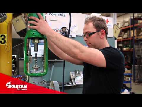 Fisher Sliding Stem Valves - How to Mount a Fisher Valves Spring and Diaphragm Actuator