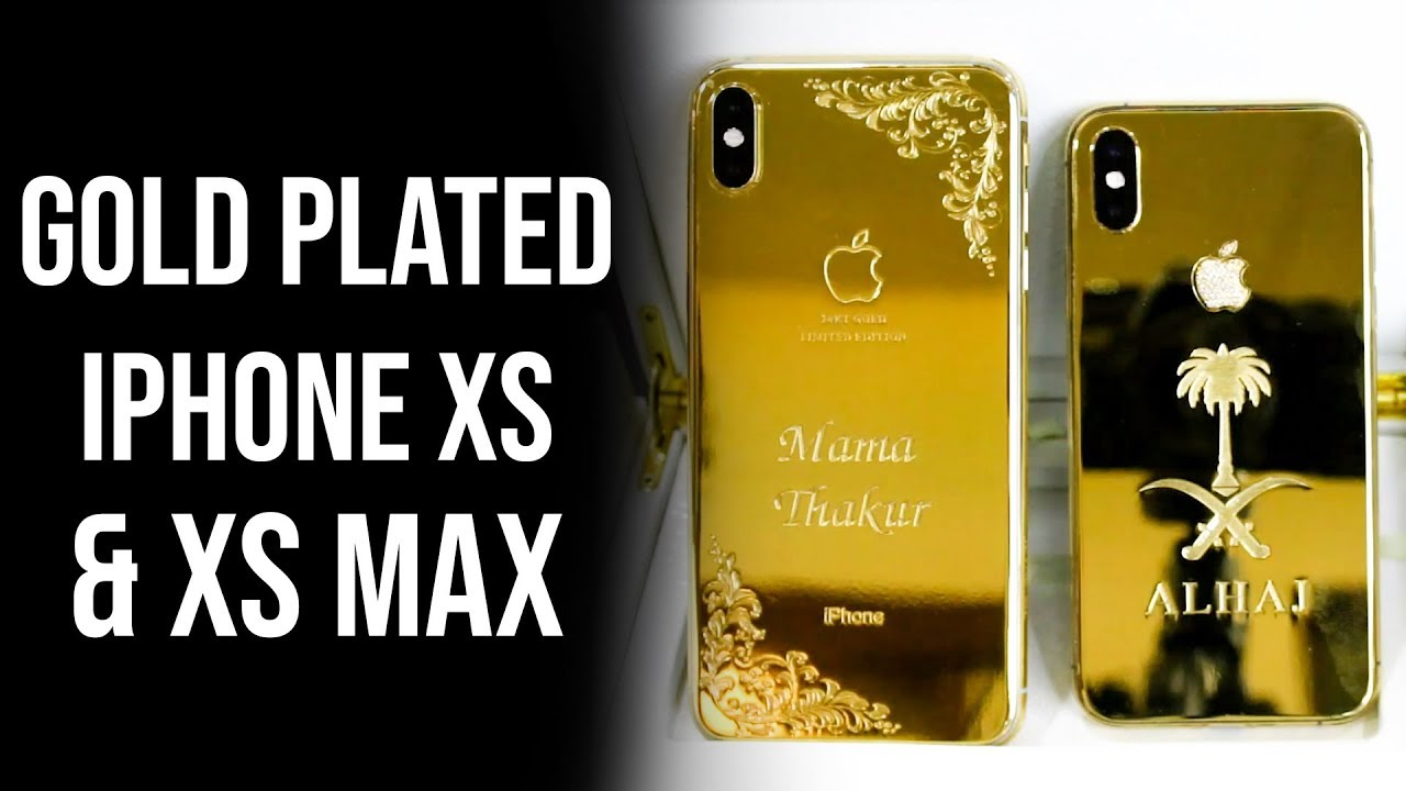 Apple iPhone XS Max 256GB 24kt Gold Plated price in Pakistan