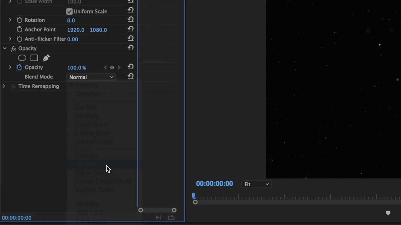 TUTORIAL - Adding Dust effects in Adobe Premiere