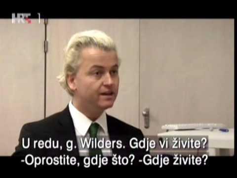 Geert Wilders, interview with Goran Milić 1/2