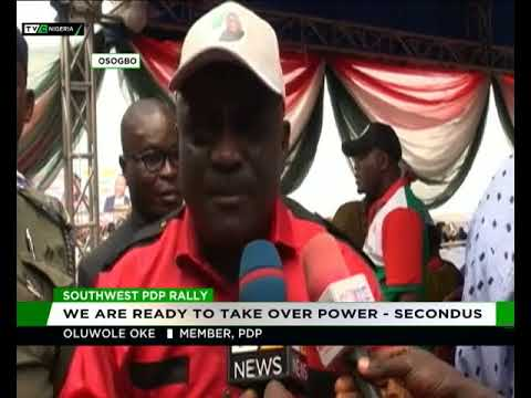 PDP Southwest holds rally in Osogbo thumbnail