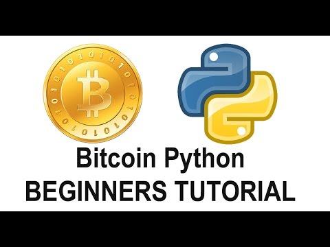Python Bitcoin Tutorial for Beginners