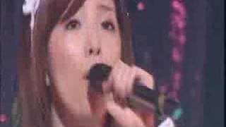 "Murata Megumi singing ""Lunch"" from the Melon Kinenbi 100% Melon Jui..."