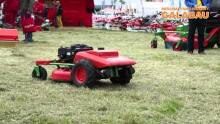 Ferngesteuerter Hybrid Rasenmäher von agria