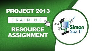 Microsoft Project 2013 Tutorial - Resource Assignment thumbnail