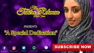 The Tahira Rehman Poet Show: A Special Dedication | The Art Of Giving #poet #poetry #poems