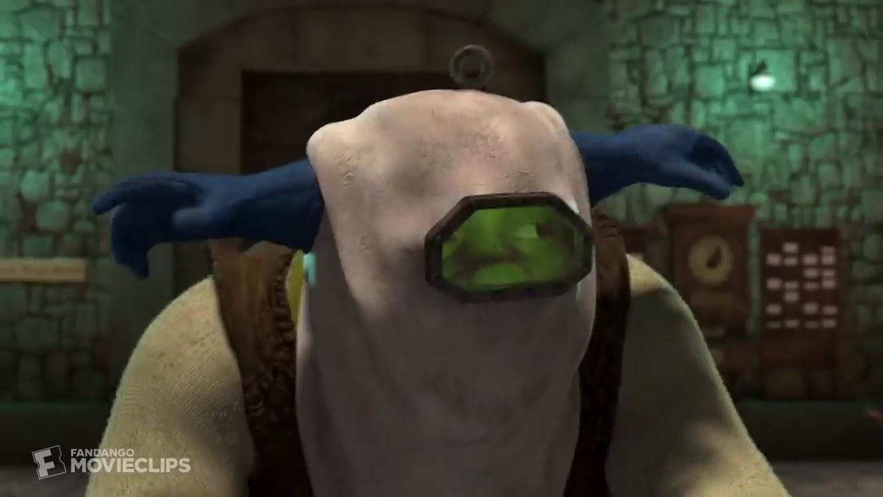 Shrek 2 2004 Potions Factory Scene Youtube