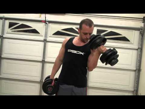 Bowflex dumbells 552 AND 1090 Selecttech dumbbell Review P90X