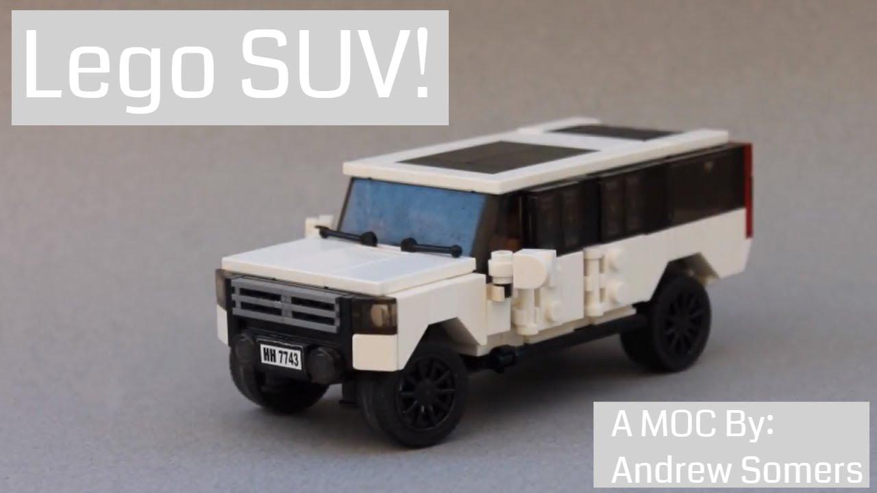 Lego Suv Cadillac Escalade Chevy Suburban Youtube
