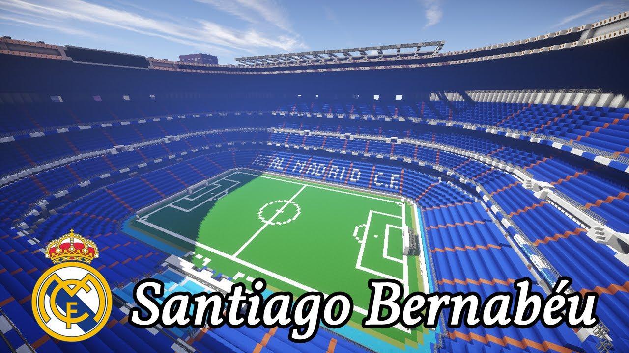 Santiago bernab u en minecraft fotoproceso de for Puerta 8 bernabeu
