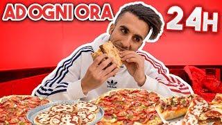 🍕 MANGIO PIZZA ad OGNI ORA per un GIORNO INTERO! 24h CHALLENGE