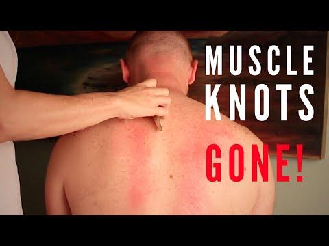 Break up muscle knots w/ Gua Sha Massage.  How-2 for  Deep Tissue gua sha - Keeps back pain away!