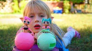 Куклы ЛОЛ – ПРОПАЛИ! История про куклы Лол на Хэллоуин Маргарита и Мама в поисках by Margo