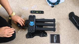 CHEETAH articulating arm unboxing, instalation and review
