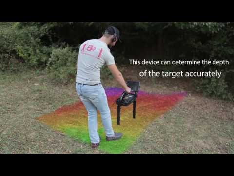 Gold detector Royal Analyzer 3D Ground Scanner