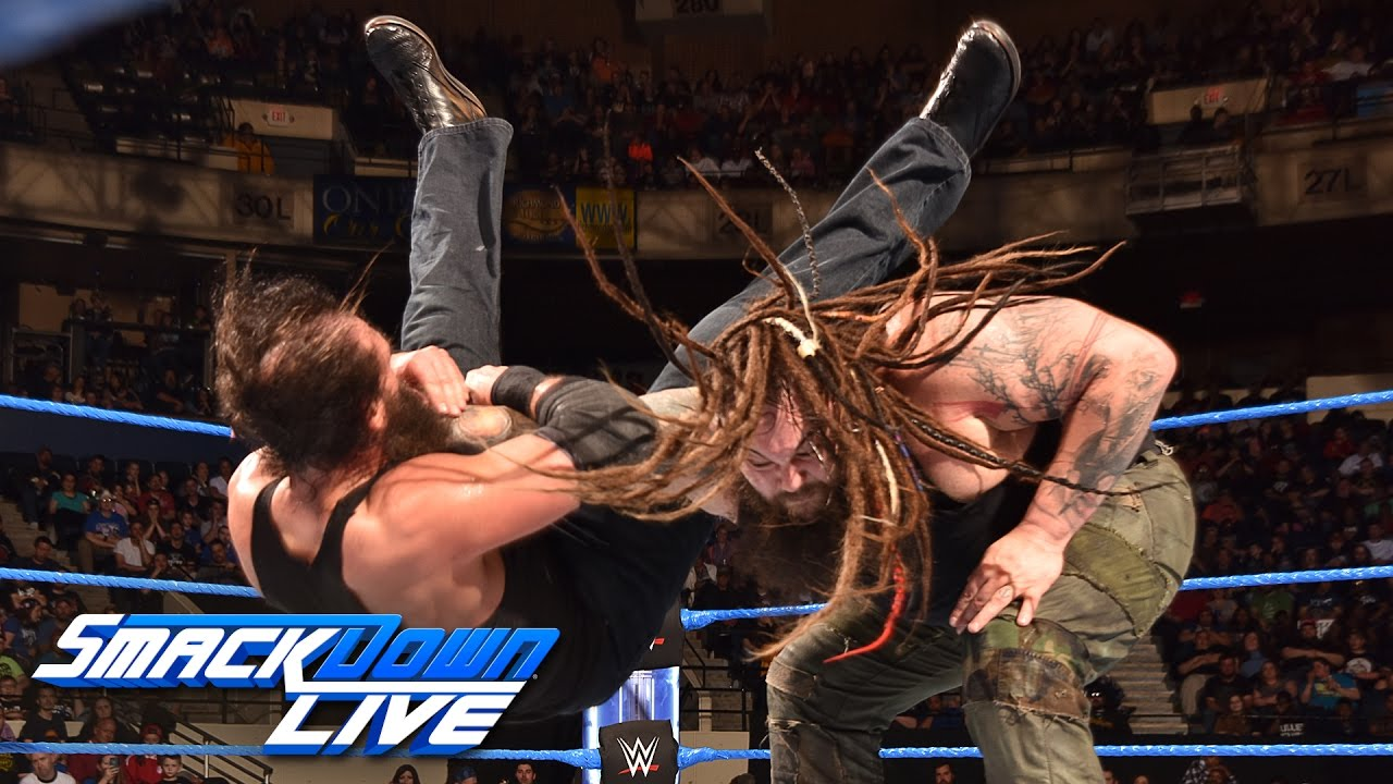 Download Luke Harper vs. Bray Wyatt: SmackDown LIVE, March 28, 2017