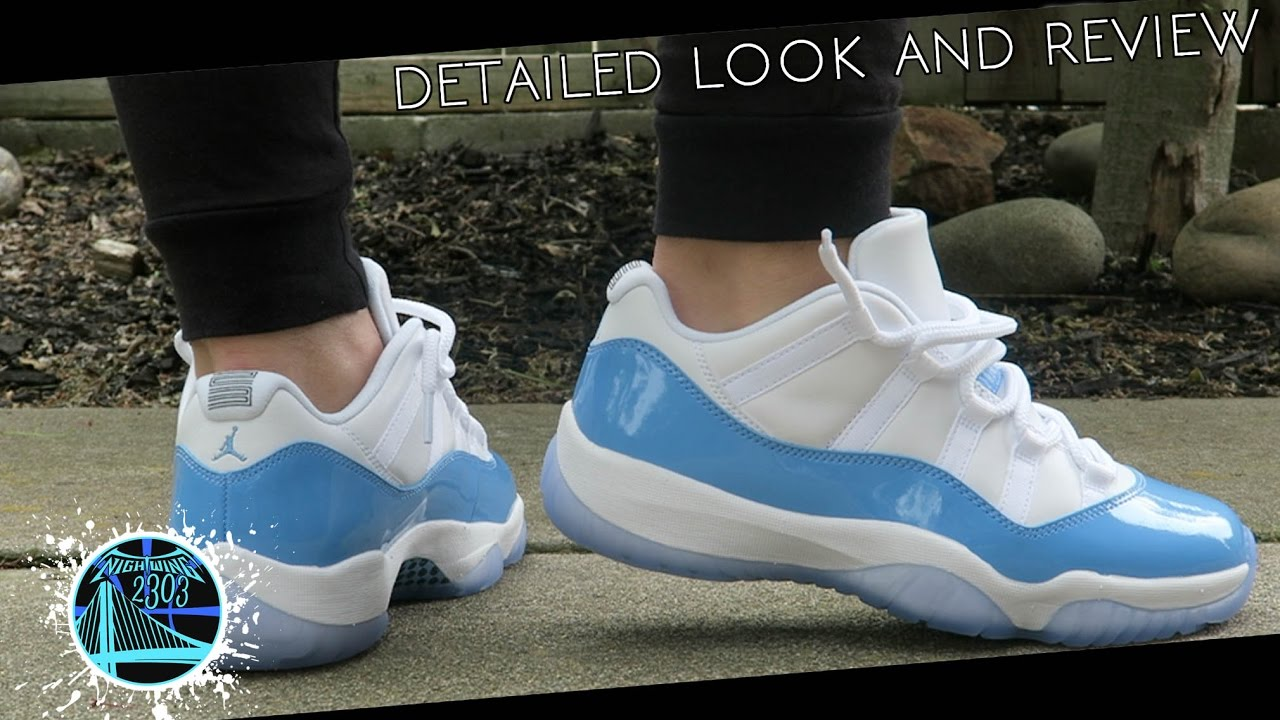 online store 075e8 2d84b Air Jordan 11 Retro Low  University Blue    Detailed Look and Review