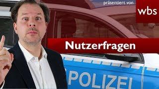Durften Polizisten den Einsatz am Hambacher Forst verweigern? | Nutzerfragen RA Solmecke