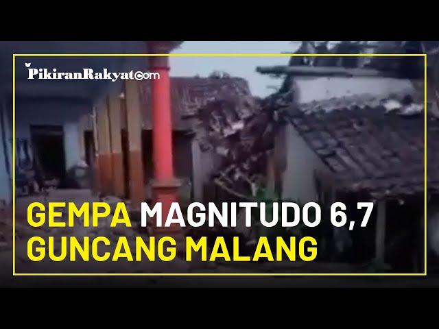 BREAKING NEWS: Gempa Magnitudo 6,7 Guncang Kabupaten Malang, BMKG Sebut Tidak Berpotensi Tsunami