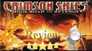 Crimson Skies: High Road To Revenge Review (Xbox)