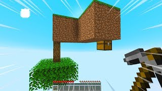 Minecraft Skyblock, BUT IT'S UPSIDE DOWN...