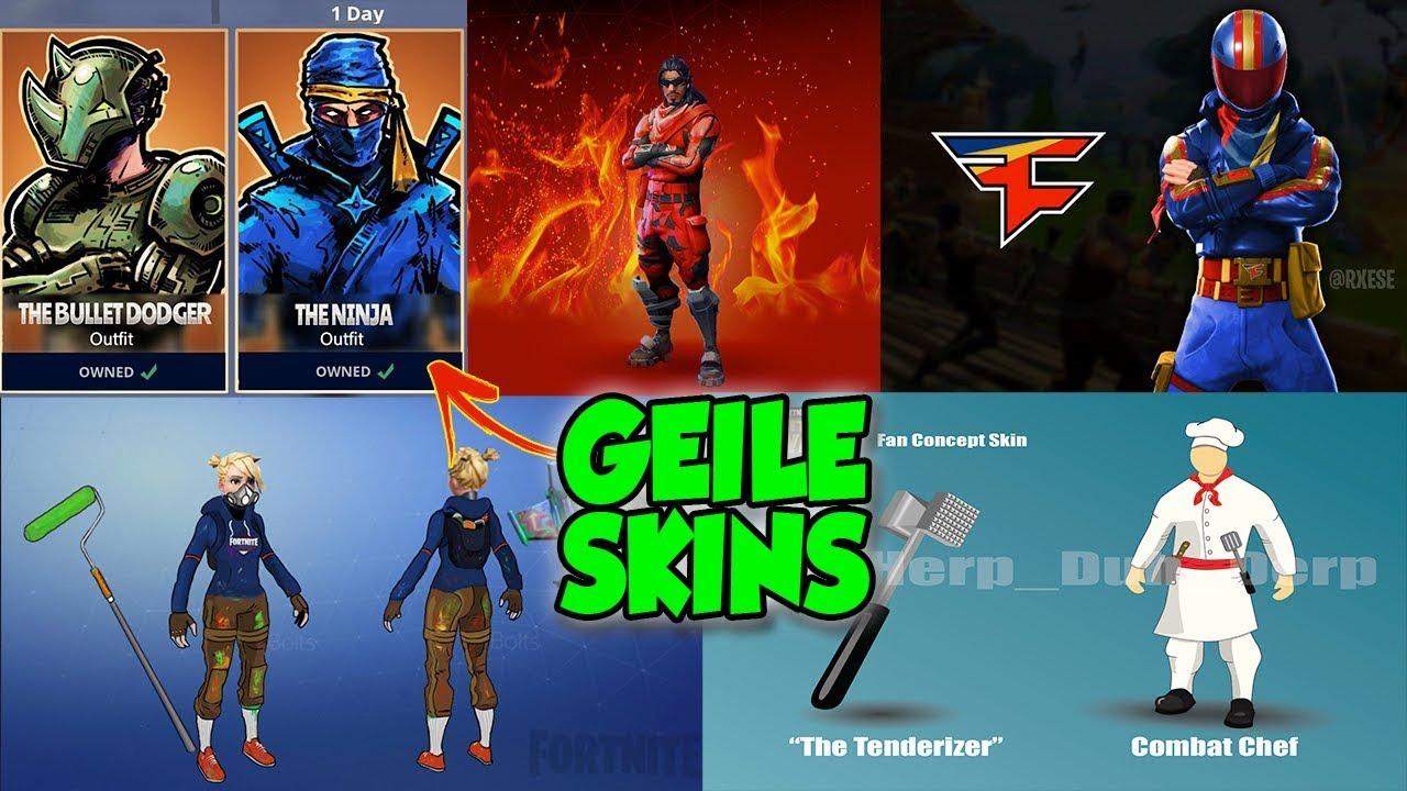 geile neue fortnite skins ninja dakotaz skin fortnite battle royale fan konzepte - alle neuen fortnite skins