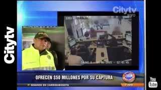 Citytv: Buscan a ladrones de bancos en Bogotá