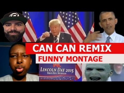 Offenbach - Can Can Remix - FUNNY MONTAGE