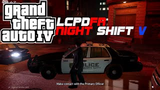 GTA IV LCPDFR 1.1 Night Shift Patrol V