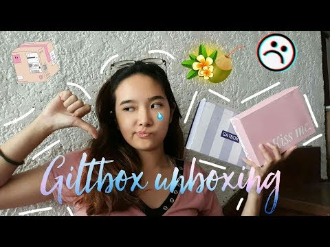 GILTBOX UNBOXING: June & July 2018 (SO DISAPPOINTING)