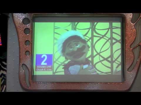 Chuck E Cheese Burbank Trololo parody countdown + Cupid Shuffle live s ...