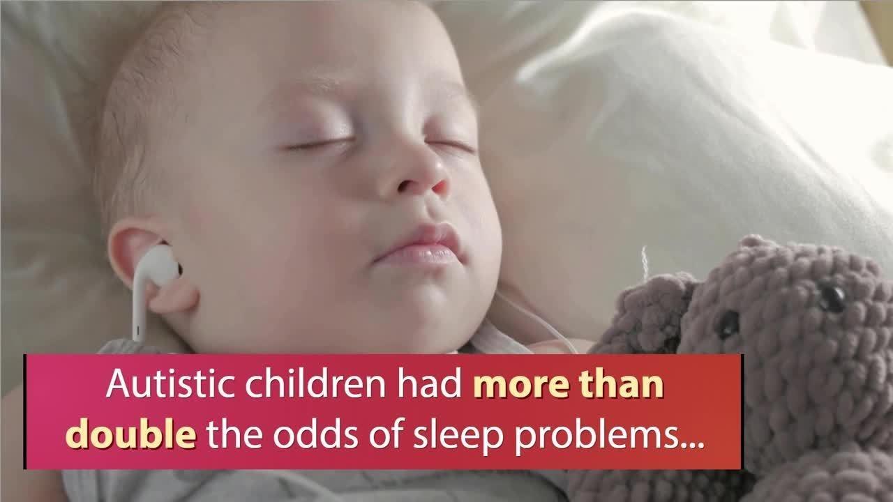Sleep hormone improves sleep disruption in children with