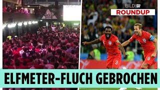 Historisch! England-Sieg im Elfmeter-Drama – WM-Roundup