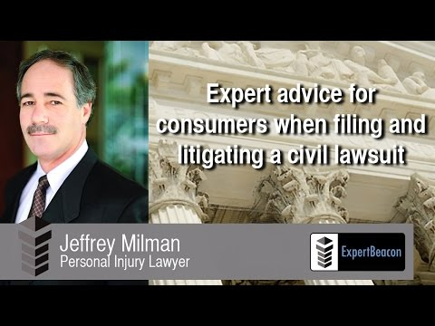 expert-advice-for-consumers-when-filing-&-litigating-a-civil-lawsuit