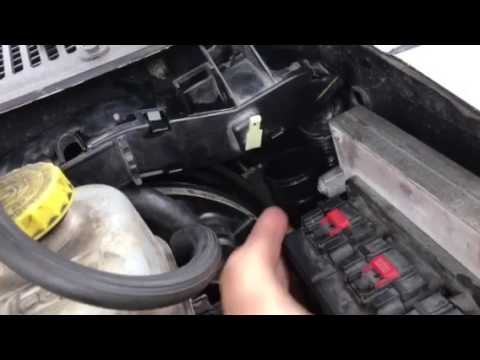 How to replace a clutch master cylinder/slave cylinder