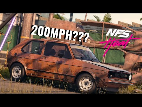Need for Speed HEAT   200MPH Golf GTI!?!?