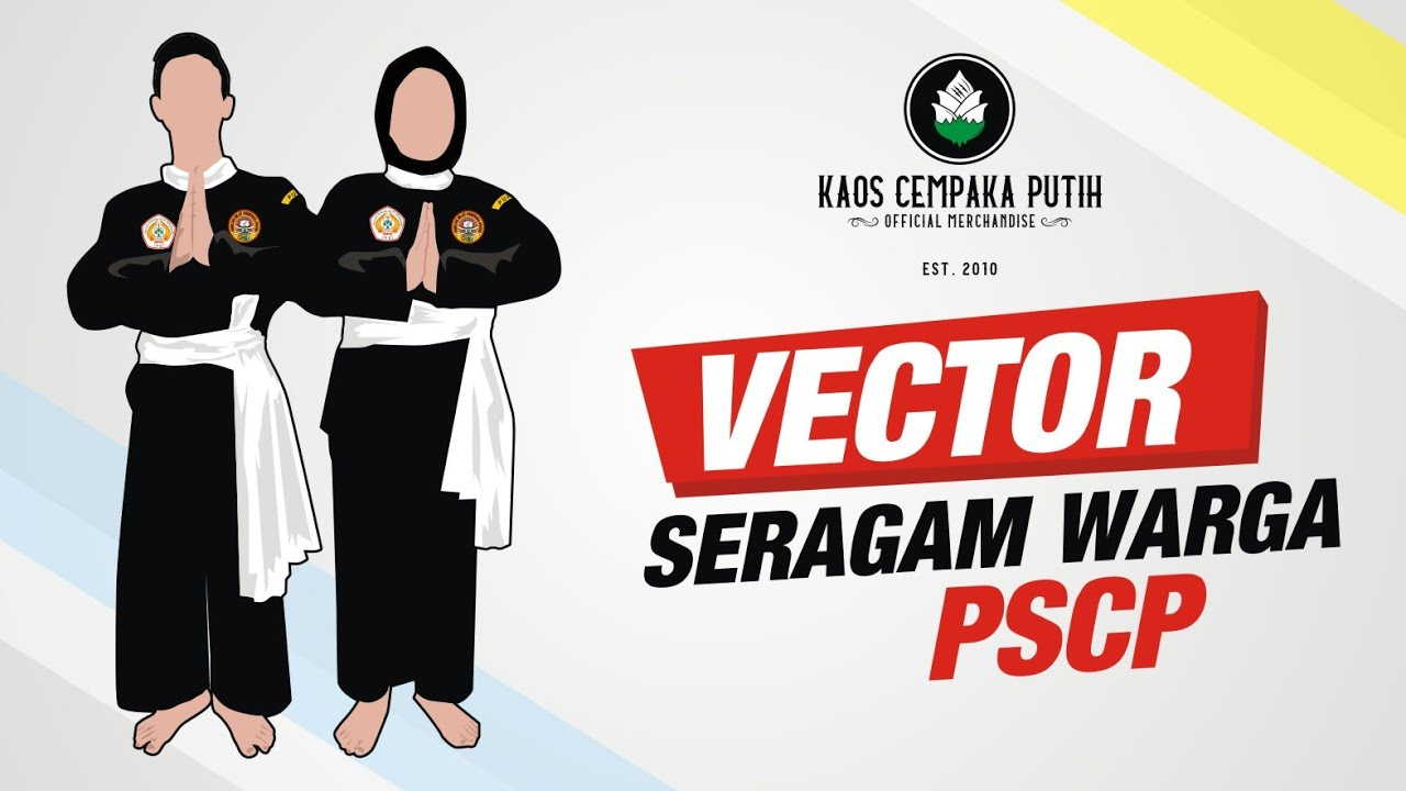 ✓ silat free vector eps, cdr, ai, svg vector illustration. Gambar Vector Seragam Warga Pencak Silat Cempaka Putih Youtube