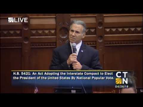 Rep. Fred Camillo Questions Constitutionality of National Popular Vote Compact