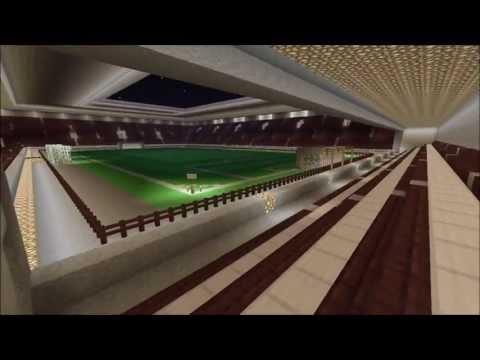 Awesome Minecraft Football Stadium