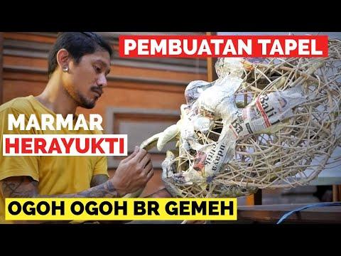 Pembuatan TAPEL OGOH OGOH BR. GEMEH - MARMAR HERAYUKTI - Meme Dewa Ratu
